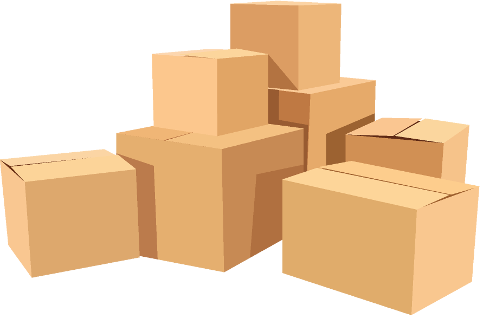 clipart picture of boxes